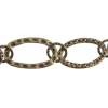 Chain Oval 31x19mm Antique Brass